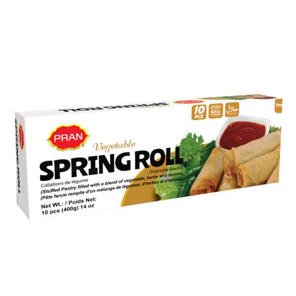 Pran Vegetable Spring Rolls 10 Pc