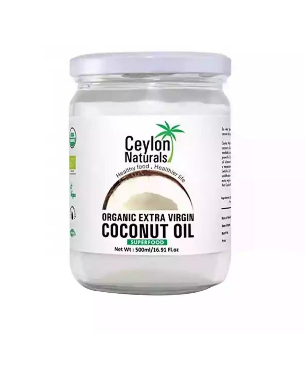 Ceylon Organic Extra Virgin Coconut Oil