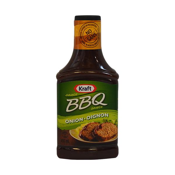 craft bbq sauce onion oignon