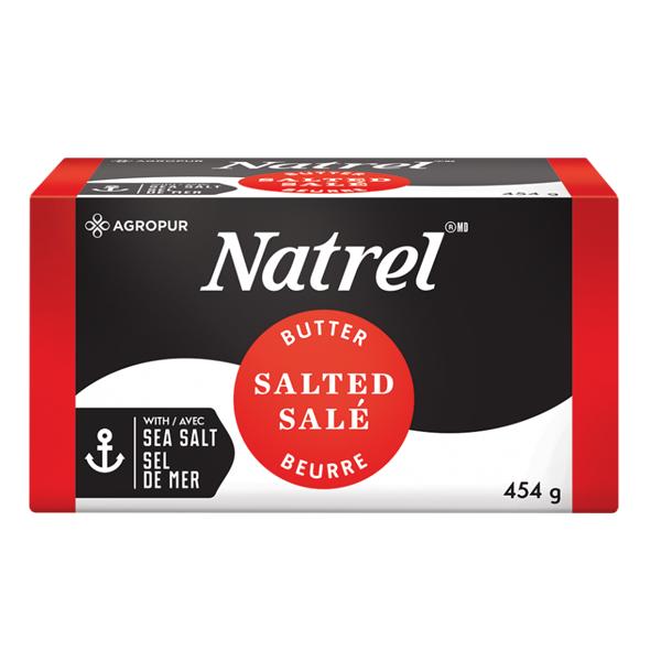 Natrel Salted Butter 454g