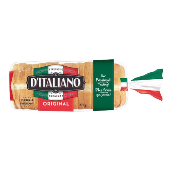 D'Italiano Original Thick Slice Bread 675g