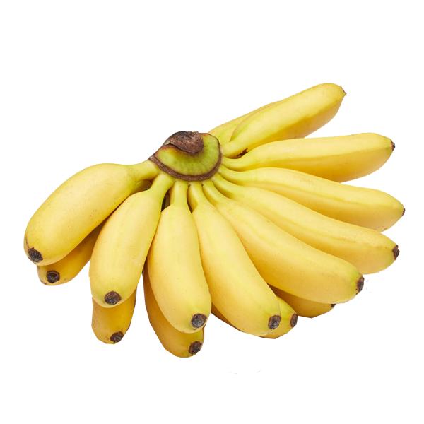 Baby Bananas 1.5 Lb