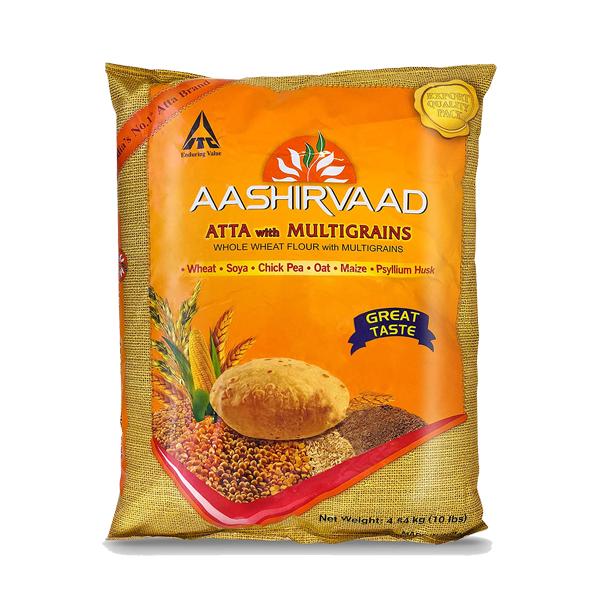 Aashirvaad Whole Wheat Atta 20lb
