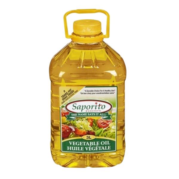 Saporito Vegetable Oil 3L