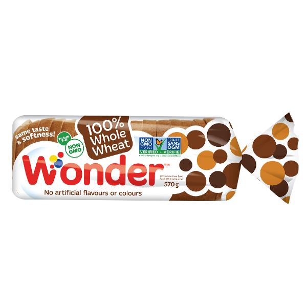 Wonderbread White Slice Bread 570g