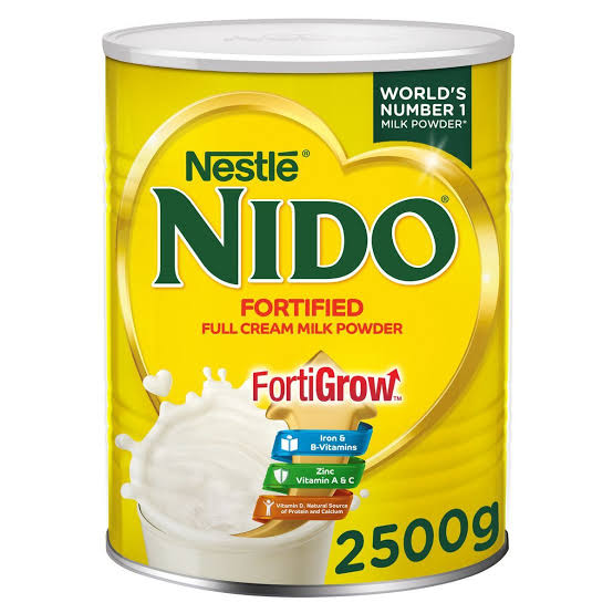 Nestle NIDO Fortigrow Milk Powder Tin
