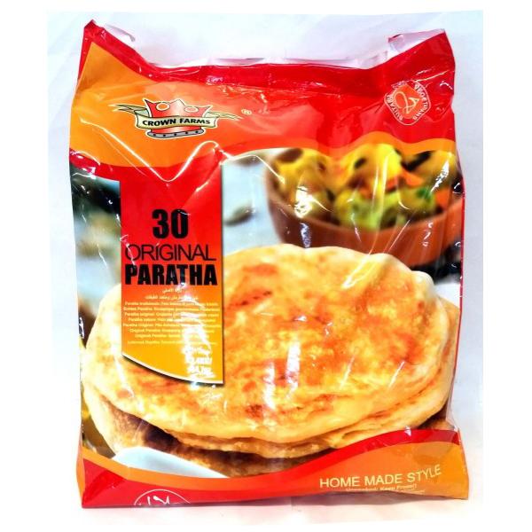 Crown Farms Plain Paratha 30 Pack